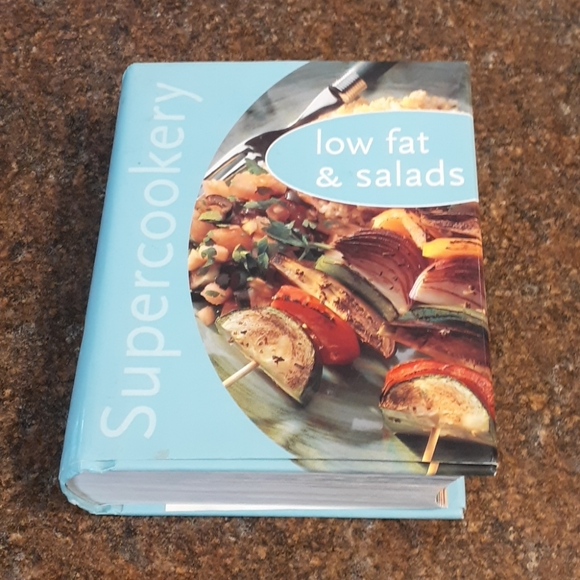 """""""SuperCookery"""" Low Fat and Salads Cookbook"""